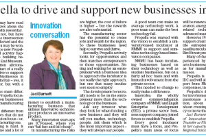 Director's Innovation Conversation on Propella features in The Herald