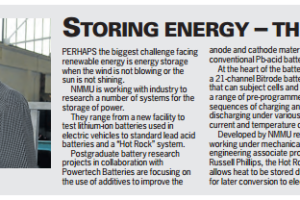 Storing energy – The 'Hot Rock' way