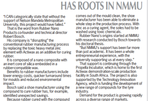 'Disruptive' technology has roots in NMMU