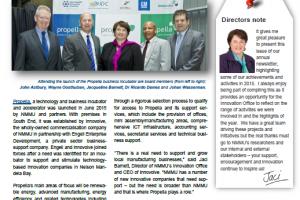 NMMU's Innovation Office Newsletter – Summer 2015/16