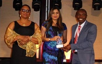 Naazlene wins DST-SARIMA Award